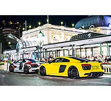 Audi R8 Plus  Photographic Print