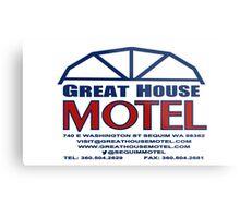 Great House Motel: Sequim, Washington Metal Print