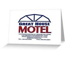 Great House Motel: Sequim, Washington Greeting Card