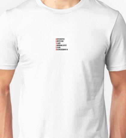 Divisive Donald Unisex T-Shirt