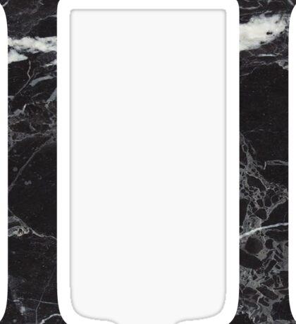 black marble pi ///// Sticker