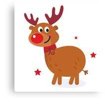 New stylish Reindeer character is in Shop Canvas Print