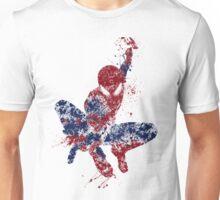 Spider-Man Splatter Art Color Unisex T-Shirt