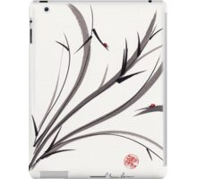 """My Dear Friend""  Original ink and wash ladybug bamboo painting/drawing iPad Case/Skin"