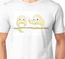 Rowlet in love Unisex T-Shirt