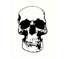 221b Skull Art Print