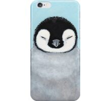 Emperor Penguin Chick iPhone Case/Skin