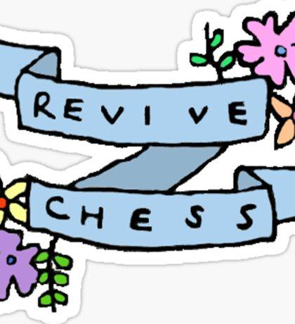 Revive Chess Sticker
