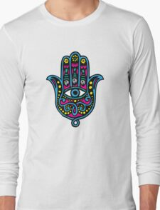 Hand of Fatima Long Sleeve T-Shirt