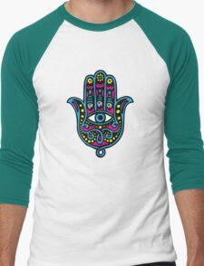 Hand of Fatima Men's Baseball ¾ T-Shirt