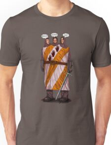 "Three ""Knightly"" Gear Heads Unisex T-Shirt"