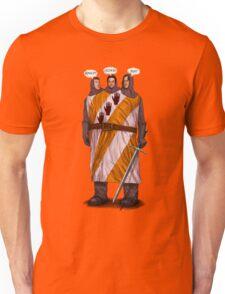 """Three """"Knightly"""" Gear Heads Unisex T-Shirt"""