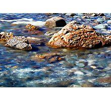 Cobble Blue Photographic Print