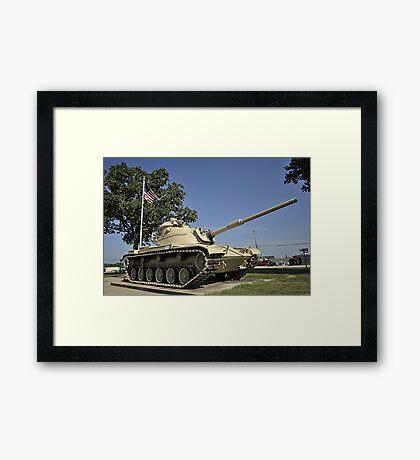 American Armour Framed Print