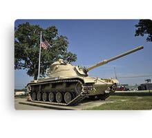 American Armour Canvas Print