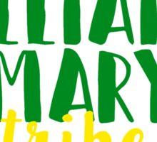 William & Mary Tribe Sticker