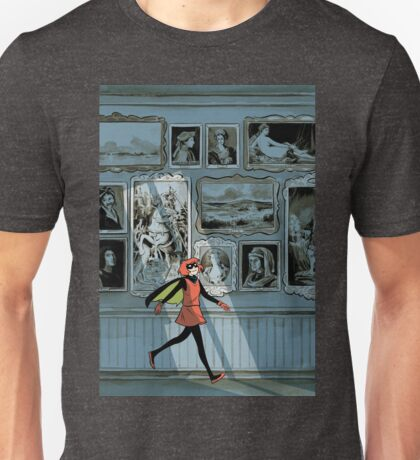 Bandette In The Gallery Unisex T-Shirt