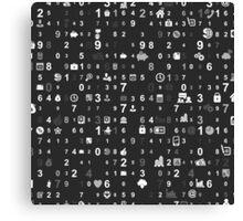 Information technologies Canvas Print