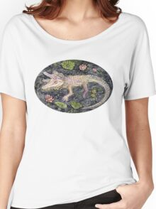 pastel alligator siblings Women's Relaxed Fit T-Shirt