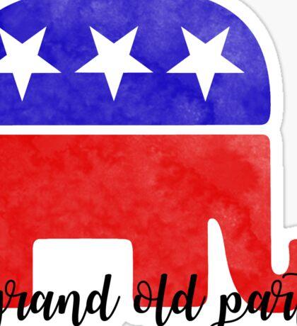 GOP Republican Sticker Sticker