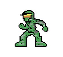 Pixel Guy Photographic Print