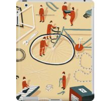 Bicycle building iPad Case/Skin