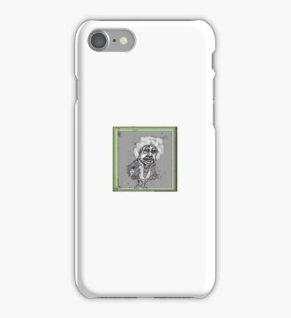 Einstein enclosed iPhone Case/Skin