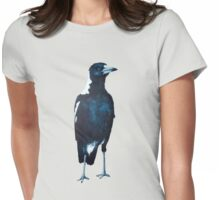 magpie shirt Womens Fitted T-Shirt