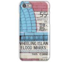 Flood Marker iPhone Case/Skin