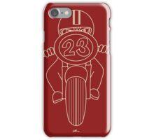 CLASSIC BIKER 1 iPhone Case/Skin