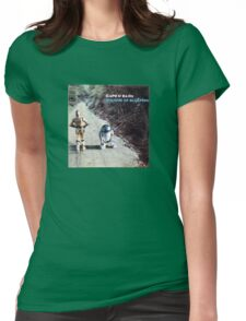 Sounds of bleeping (vinyl square version) Womens Fitted T-Shirt