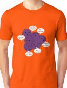 Memberberries Remember/ Black Unisex T-Shirt