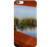 Through the Railing iPhone Case/Skin
