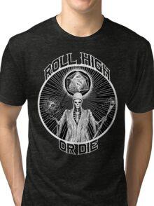 D20 Reaper - Roll High or Die d&d - Dungeons & Dragons Tri-blend T-Shirt