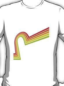 Line retro T-Shirt
