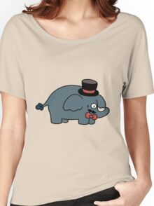 Fancy Elephant  Women's Relaxed Fit T-Shirt