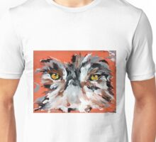 Wolf Face - Animal Art by Valentina Miletic Unisex T-Shirt