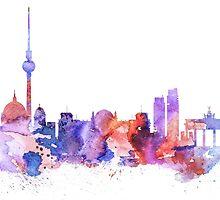 Berlin  by Watercolorsart