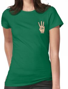 Rawwk Fingers  Womens Fitted T-Shirt