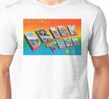 Greetings from Bricktown, NJ Unisex T-Shirt