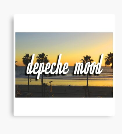 'Depeche Mood' Canvas Print