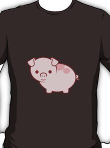 Cute Little Pink Pig T-Shirt