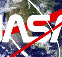 NASA Earthworm Sticker