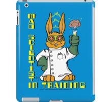Mad Scientist In Training Bunny iPad Case/Skin