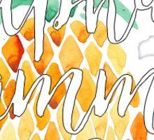 Alpha Gamma Delta Pineapple Sticker