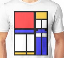 Color Block TARDIS Unisex T-Shirt