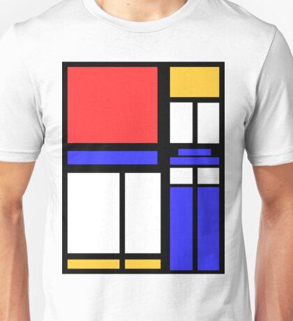 Color Block TARDIS Unisex T-Shirt