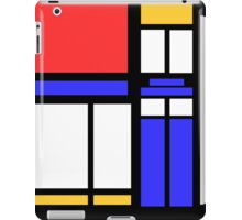 Color Block TARDIS iPad Case/Skin