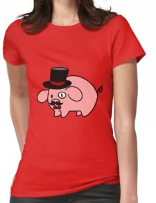 Fancy Pig Womens Fitted T-Shirt