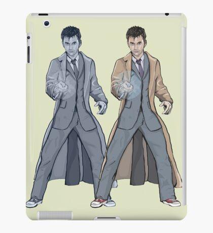 Dr Who Ten- Warhol Style iPad Case/Skin